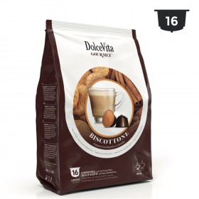 Dolce Vita Cappuccino sušienky a škorica kapsule pre Dolce Gusto 16 x 13g
