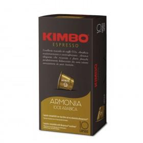 Kimbo Armonia 100% Arabica kapsule pre Nespresso 10x5,8g