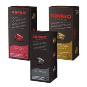 Rodinné balenie Kimbo kapsule pre Nespresso 30 x 5,8g