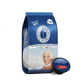 Caffè Borbone Blu kapsule pre Dolce Gusto 15x7g