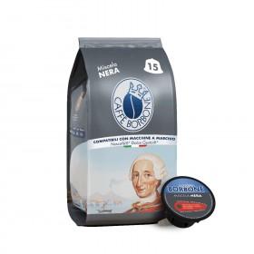 Caffè Borbone Nera kapsule pre Dolce Gusto 15x7g