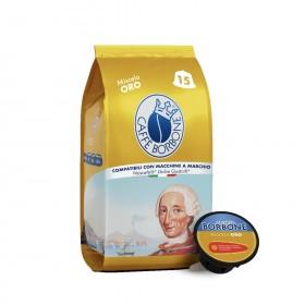 Caffè Borbone Oro kapsule pre Dolce Gusto 15x7g