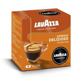 Lavazza A modo mio Espresso Delizioso 100% Arabica kapsule 16x7,5g