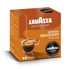 Lavazza A modo mio Espresso Delizioso 100% Arabica kapsule 36x7,5g