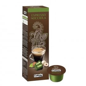 Caffitaly Ecaffé Espresso Nocciola 100% Arabica kapsule 10x8g