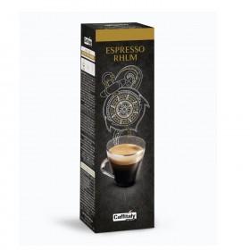 Caffitaly Ecaffé Espresso Rhum kapsule 10x8g