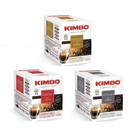 Rodinné balenie KIMBO pre A modo mio 30x7,5g