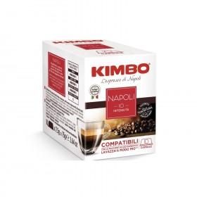 Kimbo Napoli kapsule pre A modo mio 10x7,5g