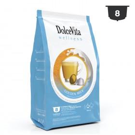 Dolce Vita Golden milk s kurkumou kapsule pre Dolce Gusto 8 x 13g