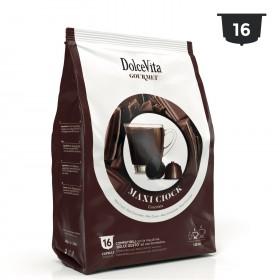 Dolce Vita tmavá čokoláda kapsule pre Dolce Gusto 16 x 13g